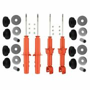Kyb Front And Rear Suspension Struts And Mounts Kit For Acura Integra Honda Civic