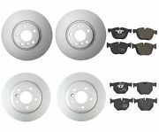 New Genuine Front And Rear Brake Kit Disc Rotors And Pads For Bmw E70 E71 X5 X6
