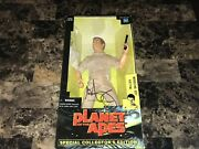 Mark Wahlberg Rare Signed Plantet Of The Apes 12 Action Figure Major Leo Bas