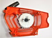 Husqvarna 555 Chainsaw Side Cover With Brake Assembly And Bar Nuts - Oem