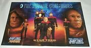 1995 Star Trek 33 3/4 By 22 Inch Dc Comics The Next Generation Tng Promo Poster