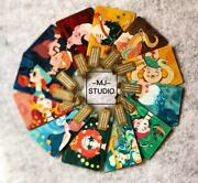 Starbucks 2019 China 12 Constellations Zodiac Sign Gif Card Pin Covered With Box