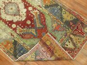 Antique Decorative Turkish Melas Oushak Rug Size 3and039x6and0391and039and039