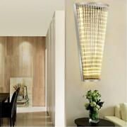 Led Crystal Hotel Lobby Wall Lamp House Wall Light Compound Tunnel Fixrures