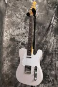 New Fender Jimmy Page Mirror Telecaster Rosewood Fingerboard White Blonde Guitar