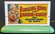 Vintage Collectible Gilbert Trains Ringling And Barnum Bailey Electric Billboard