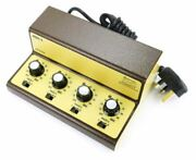Gaugemaster Model Q Four Track Cased Controller Twin 12volt Dc Controlled Output