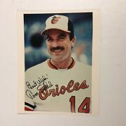 Tom Selleck Hand Signed Autographed 8x10 Photo Baseball Baltimore Orioles