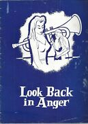 Look Back In Anger Program Signed By Mary Ure Jack Livesey +3 Beckett Loa
