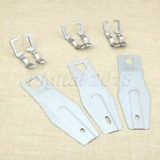 Sewing Machine Spare Parts 3 Size 1 Set Feed Plate And Clamp For The Juki 1900