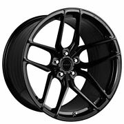 4ea 22 Staggered Stance Wheels Sf03 Gloss Black Rims S4