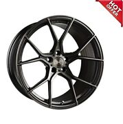 4ea 19 Staggered Stance Wheels Sf07 Gunmetal Brushed Tinted Rimstires And Tpms