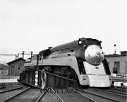Southern Pacific Railroad Train Streamliner Locomotive Tx Roundhouse 8x10 Photo