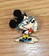 Genuine Disney Castaway Car Cruise Line Nerds Rock Mickey Mouse Only Pin Read
