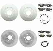 Genuine Front And Rear Brake Kit Disc Rotors Pads And Sensors For Bmw E82 E88 128i
