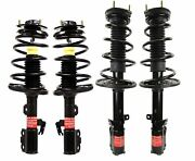 Monroe Quick-strut Front And Rear Strut Coil Spring Kit For Toyota Solara To 6/06
