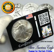 Test Tool Kit For Us 1 Oz Silver Dollar 1 Eagles Bullion With Lens No Coin