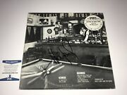 Huey Lewis Rare Signed 12 Sports Side Two Promo Vinyl Record Bas Free Shipping