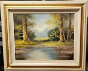 Original William F. Powell Oil Painting...signed And Inscribed 1987
