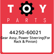 44250-60021 Toyota Gear Assy Power Steeringfor Rack And Pinion 4425060021 New