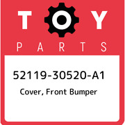 52119-30520-a1 Toyota Cover Front Bumper 5211930520a1 New Genuine Oem Part