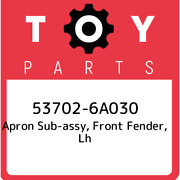 53702-6a030 Toyota Apron Sub-assy Front Fender Lh 537026a030 New Genuine Oem