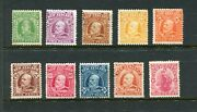 Edward Viii 1909 Set Unmounted Mint With Some That Appear Regumed