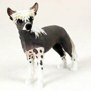 Chinese Crested Dog Figurine, Standard Size