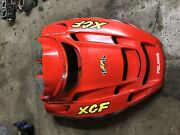 Polaris Xcf Sp Edge 440 Pro X 01 02 2001 2002 Oem Fan Cooled Hood Cowl Indy Red