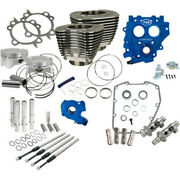 Sands 88 To 100 Power Package Black Chain Drive 585ce Cam Harley Twin Cam 99-06