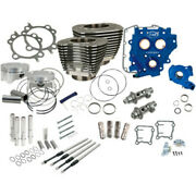 Sands 110 Power Package Black Chain Drive 585ce Cam Engine Harley Twin Cam 07-17