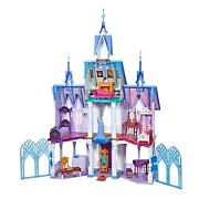 Disney Frozen 2 Ultimate Arendelle Castle Playset Lights And Moving Balcony 5ft