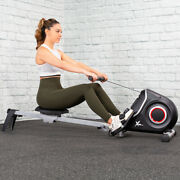 Ultra Quiet Magnetic Rowing Machine Folding Rower 10 Resistance Levels