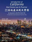 Introduction Of California Real Estate Law And Practice A Preparatory Guide...