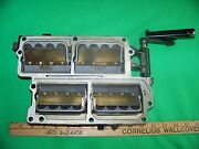 Johnson-evinrude 90-140hp 80and039s-00and039s Era Intake Manifold And Leaf Plate Assy