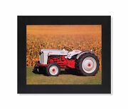 1953 Golden Jubilee Naa Ford Farm Tractor Wall Picture Black Framed