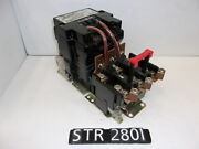 Square D 8536se01s Size 3 Open Contact Starter W/overload Relay Str2801