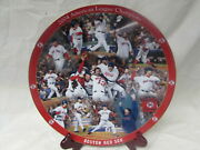 Boston Red Sox Danbury Mint 12 Inch Collectible Plate 2004 Alcs Champions