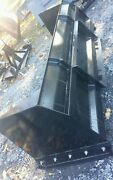 New 6' Skid Steer/tractor Loader Snow Box Pusher Plow Blade Bobcat,holland 72