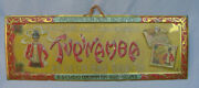 Vintage Tupinamba Tin Advertising Sign - Cigarette Rolling Papers Circa 1900