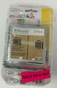 4 Pack - Munchkin Xtra Guard Dual Action Multi Use Latches 2 Count Each
