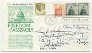 1976 Supreme Court Justices Signed First Day Cover. Burger Court. Jsa