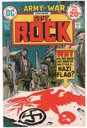 Our Army At War 272 Cover Proof - Sgt. Rock - Joe Kubertand039s File Copy W Coa 1974