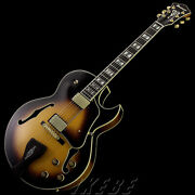 New Ibanez Lgb30-vys George Benson Model Electric Guitar From Japan