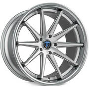 4ea 20 Staggered Rohana Wheels Rc10 Machined Silver Rims S6