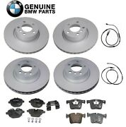 Genuine Front And Rear Disc Brake Rotors Pads And Sensors Kit For Bmw F25 F26 X3 X4