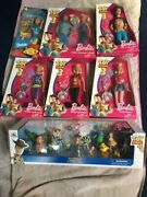 Lot Of 7 Disney Toy Story 3 Barbie And Ken Dolls And Toy Story 4 Mega Figurine Set