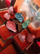 Chinese Antique Snuff Bottle Collection Jade Stone Resin