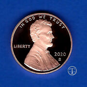 2020 S Proof Lincoln Cent Penny-gem Proof-in Stock