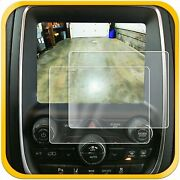 2 Fits Dodge Durango 14-18 Anti Scratch Touch Screen Protector Clear 8.4 Inch